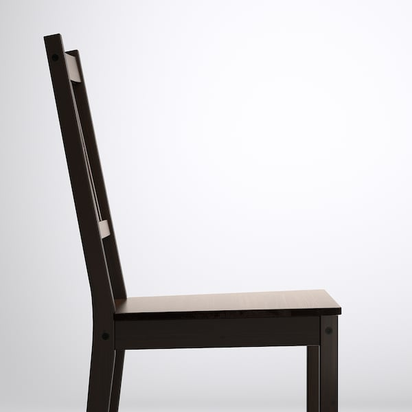 "STEFAN chair brown-black 243 lb 16 1/2 "" 19 1/4 "" 35 3/8 "" 14 1/8 "" 15 3/8 "" 17 3/4 """