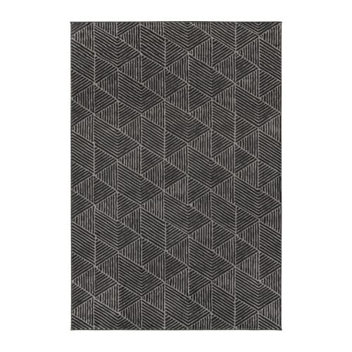 STENLILLE Rug, low pile, gray 6 ' 7