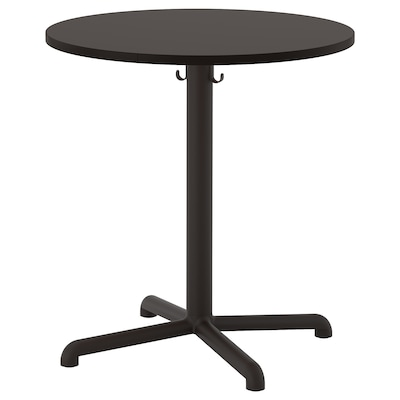 STENSELE Table, anthracite/anthracite, 27 3/8 ""