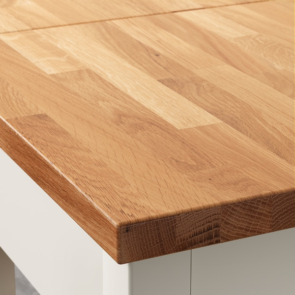 Stenstorp Kitchen Cart White Oak Ikea