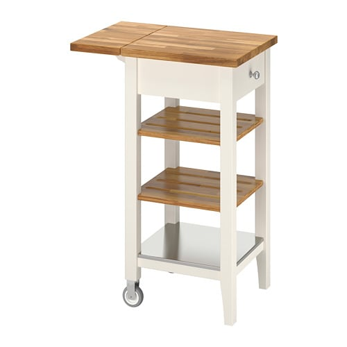 Stenstorp Kitchen Cart White Oak
