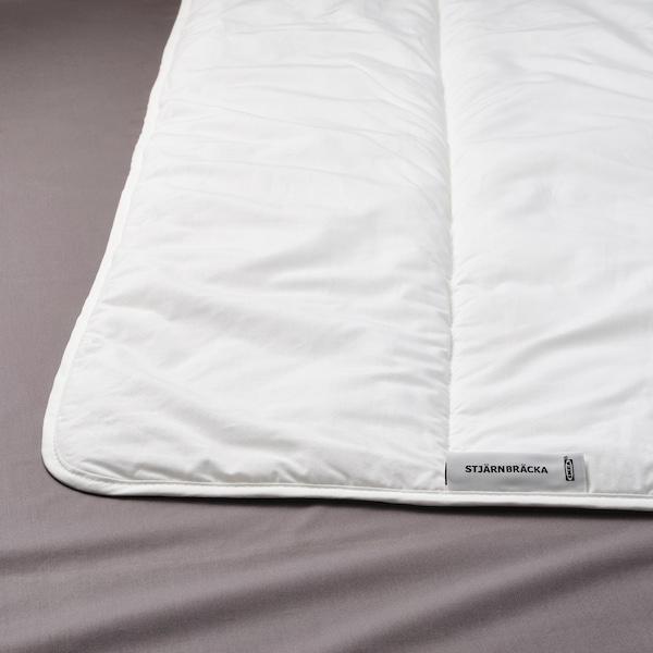 STJÄRNBRÄCKA Comforter, light warm, King