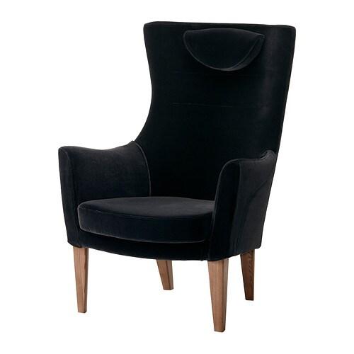 Stockholm Chair High Sandbacka Black Ikea