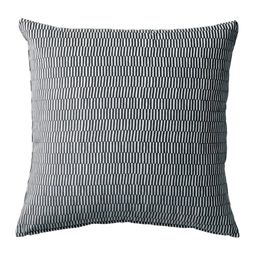 STOCKHOLM 2017 Cushion, stripe gray, white