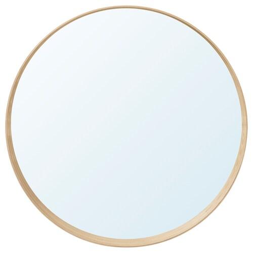 """STOCKHOLM mirror ash veneer 3 7/8 """" 31 1/2 """""""