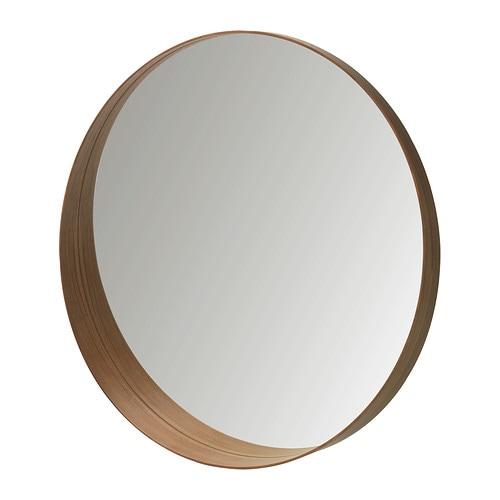 STOCKHOLM Mirror, walnut veneer walnut veneer 31 1/2