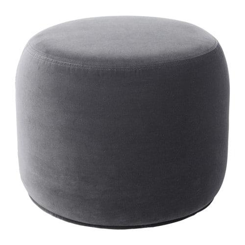 stockholm 2017 ottoman sandbacka dark gray ikea. Black Bedroom Furniture Sets. Home Design Ideas