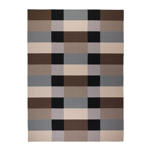 Stockholm rug flatwoven ikea for Ikea living room rugs