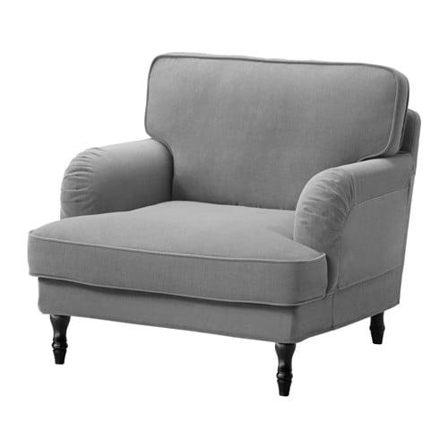 Stocksund Chair Ljungen Gray Black Ikea
