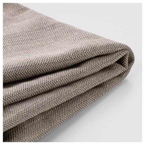 STOCKSUND cover for sofa Nolhaga gray-beige
