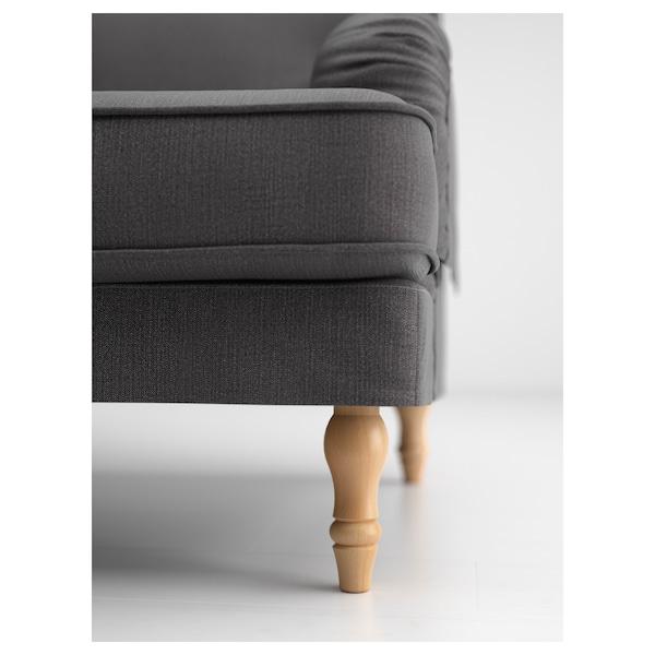 STOCKSUND Legs for armchair/sofas, light brown