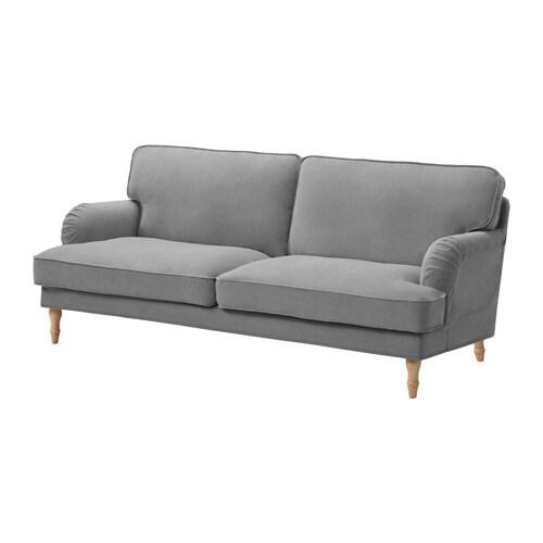 Stocksund sofa cover ljungen gray ikea - Sofas tapizados en tela ...