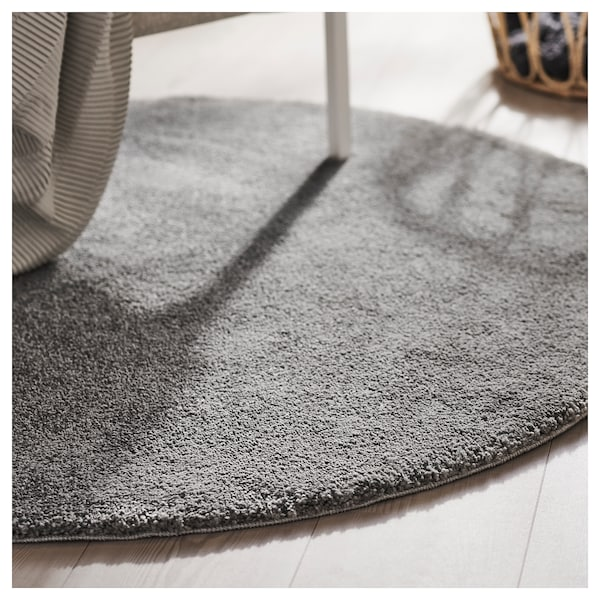 Stoense Rug Low Pile Medium Gray