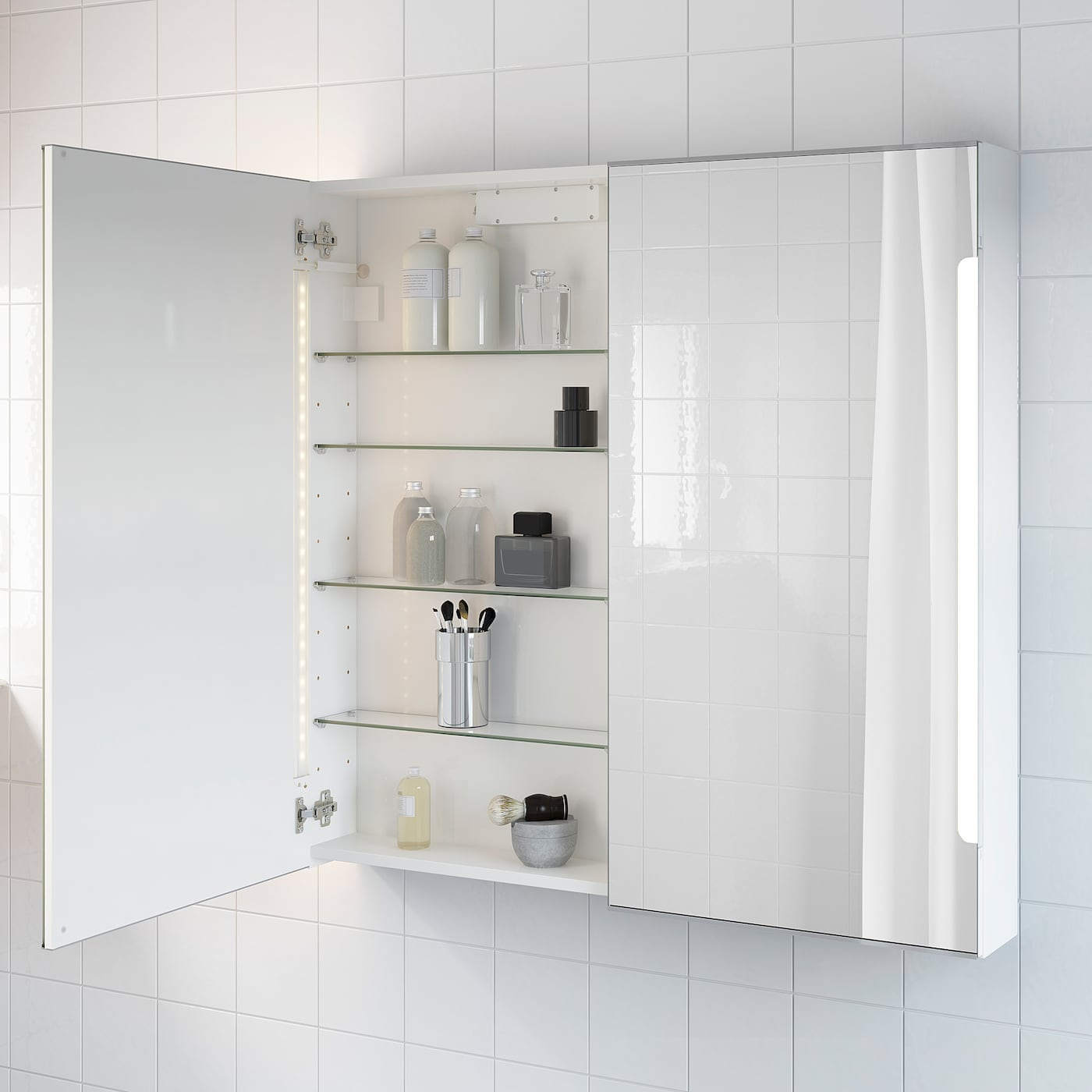 Storjorm Mirror Cabinet W 2 Doors