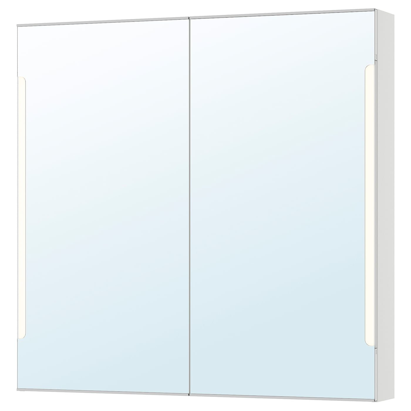 Storjorm Mirror Cabinet W 2 Doors Light White 39 3 8x5 1 2x37 3 4 Ikea