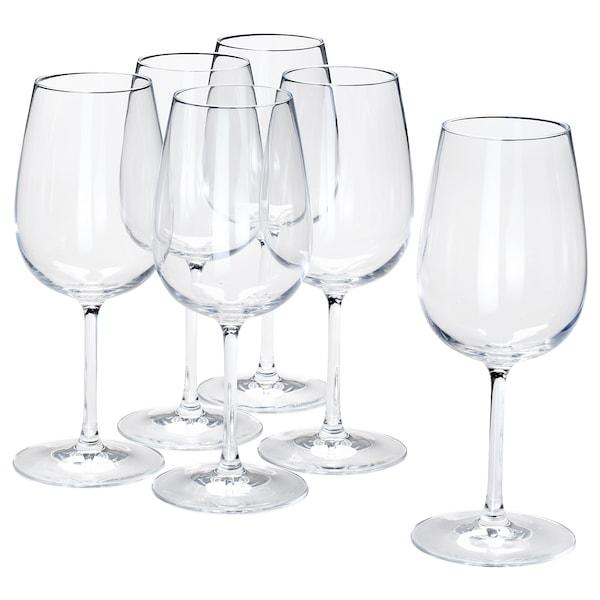 STORSINT Wine glass, clear glass, 17 oz