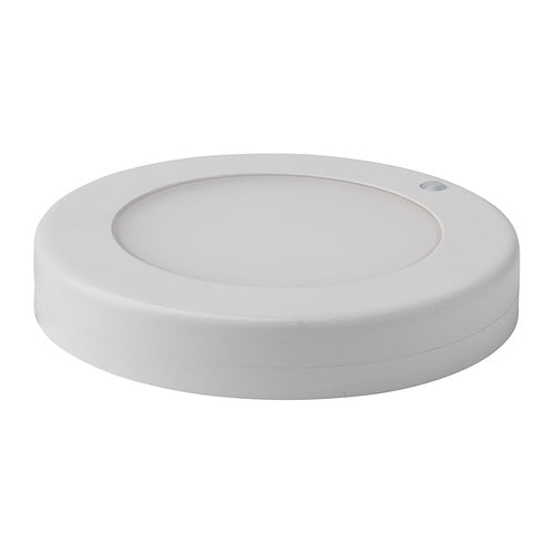 STÖTTA LED ceiling/wall lamp, battery operated white battery operated white -