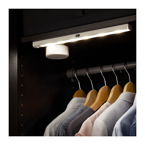 STÖTTA LED light strip IKEA Easy to place anywhere as it is battery operated and does not need to be connected to the main supply.