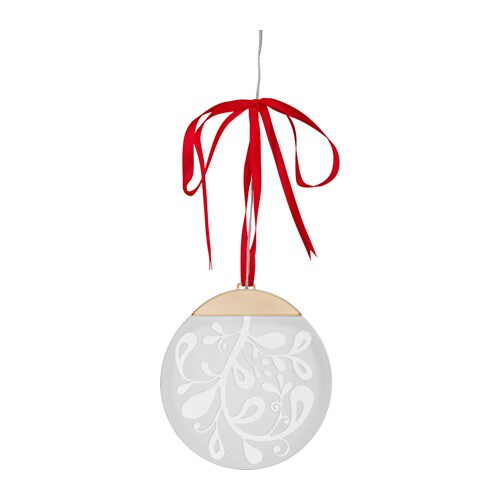 STRÅLA LED hanging light decoration , battery operated Diameter: 6