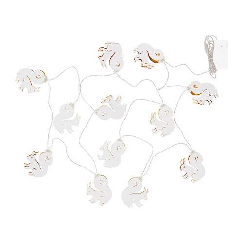 str la led string light with 12 lights ikea. Black Bedroom Furniture Sets. Home Design Ideas