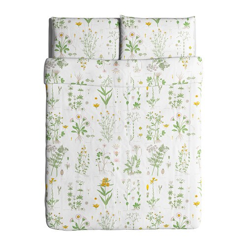 STRANDKRYPA Duvet cover and pillowcase(s) - Full/Queen (Double/Queen) - IKEA