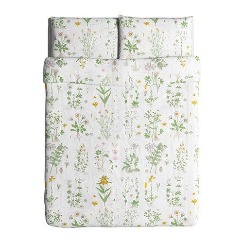 Ikea Duvet Strandkrypa Comforter Cover Country Floral