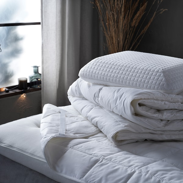 STRANDMOLKE Comforter, warm, Full/Queen