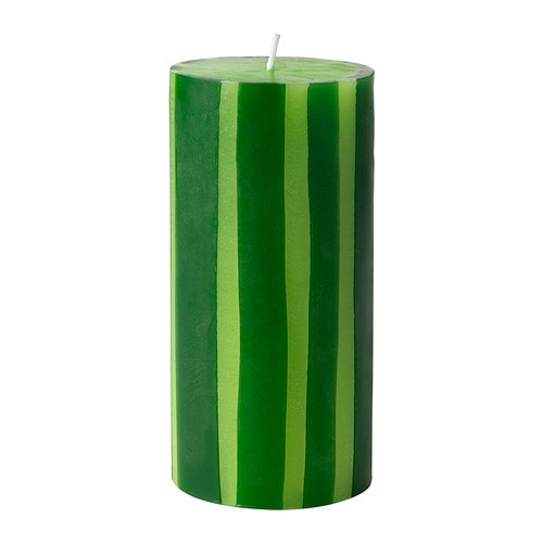 STRÄV Unscented block candle IKEA