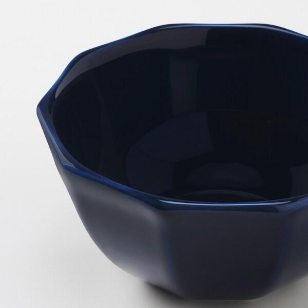 """STRIMMIG Bowl, stoneware blue, 6 """""""
