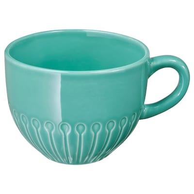 STRIMMIG Mug, turquoise, 12 oz