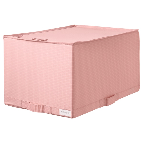 "STUK storage case pink 13 ½ "" 20 "" 11 """