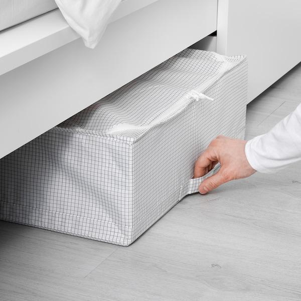 "STUK storage case white/gray 21 ¾ "" 20 "" 7 """