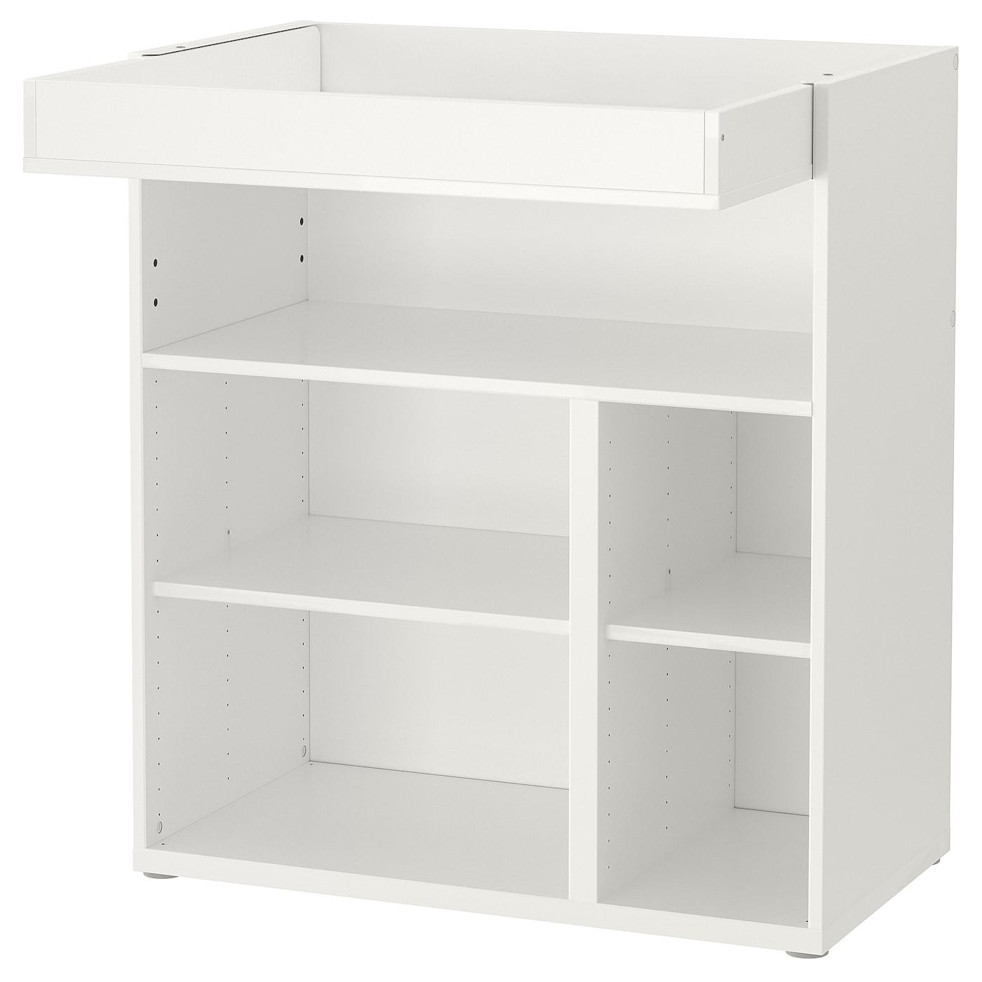 Stuva Changing Table Desk White Ikea