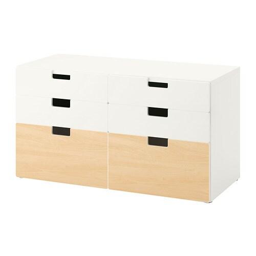 Stuva 6 Drawer Dresser