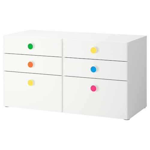 IKEA STUVA / FÖLJA 6-drawer dresser