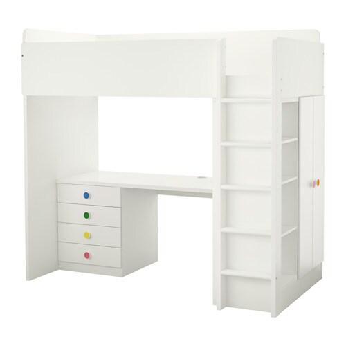 Kinderhochbett ikea  STUVA / FÖLJA Loft bed with 4 drawers/2 doors - IKEA