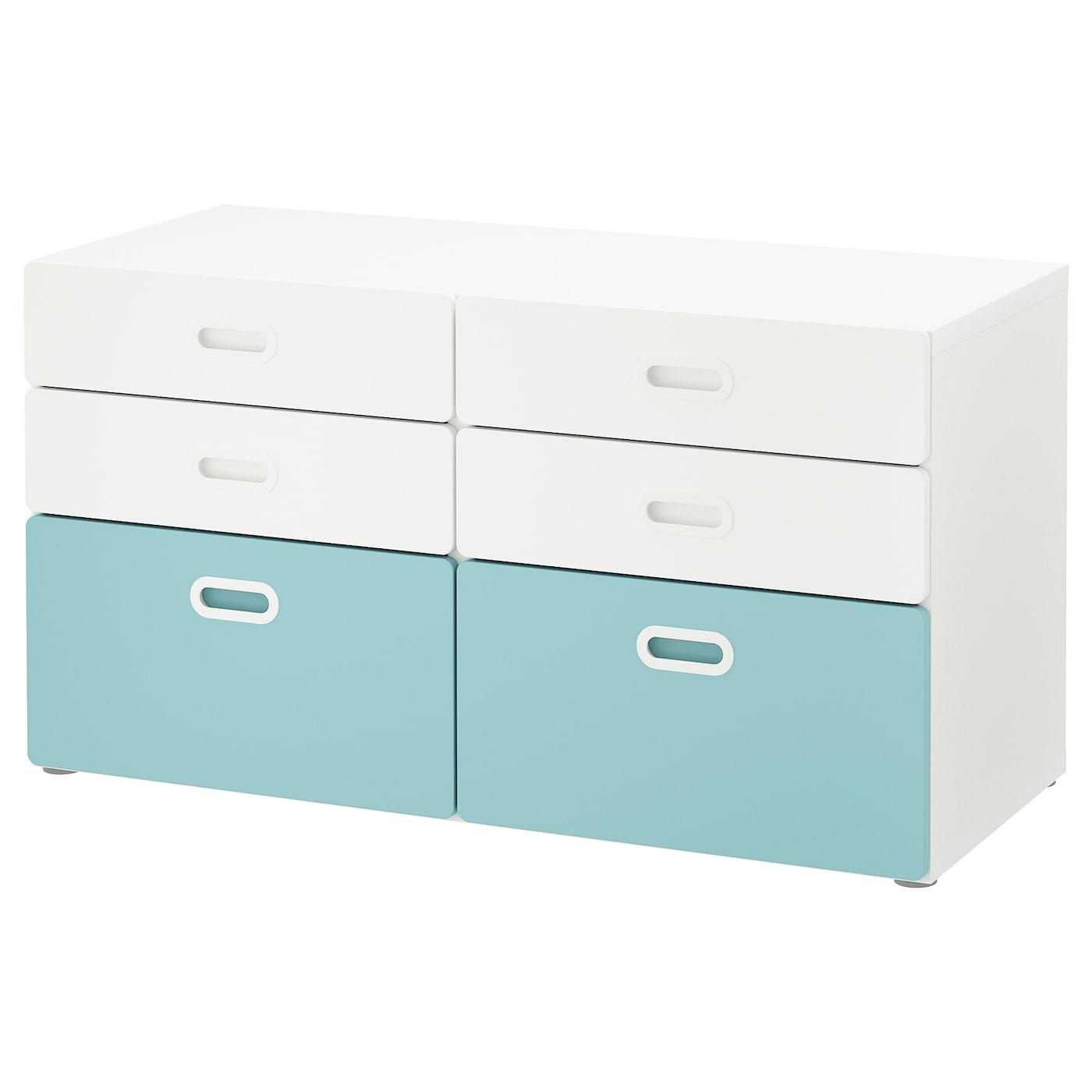 Stuva Fritids 6 Drawer Dresser White