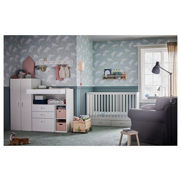 IKEA STUVA / FRITIDS Crib with drawers