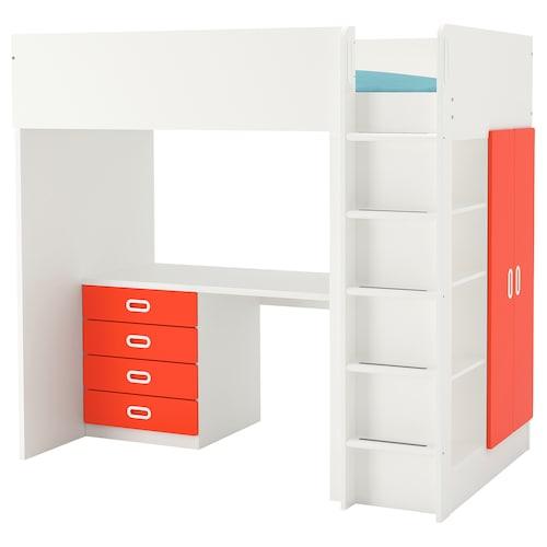 IKEA STUVA / FRITIDS Loft bed with 4 drawers/2 doors