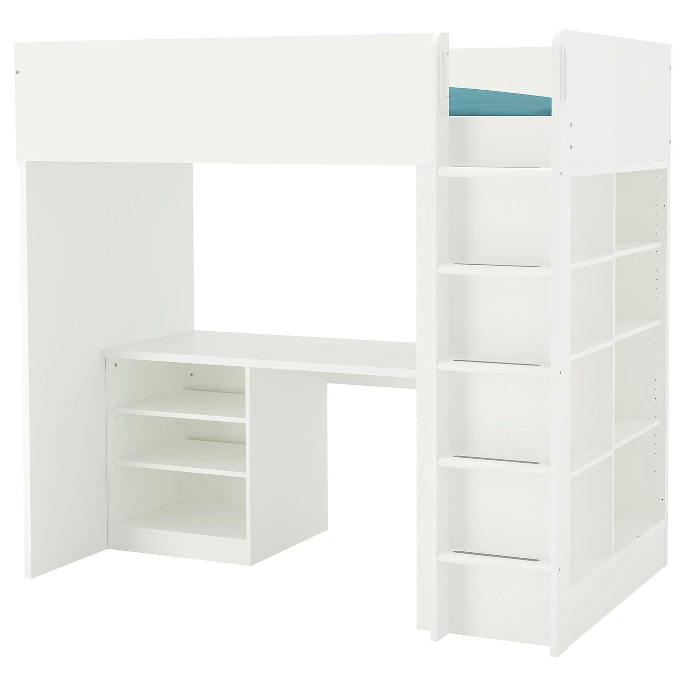 Stuva Loft Bed Combo W 2 Shlvs 3