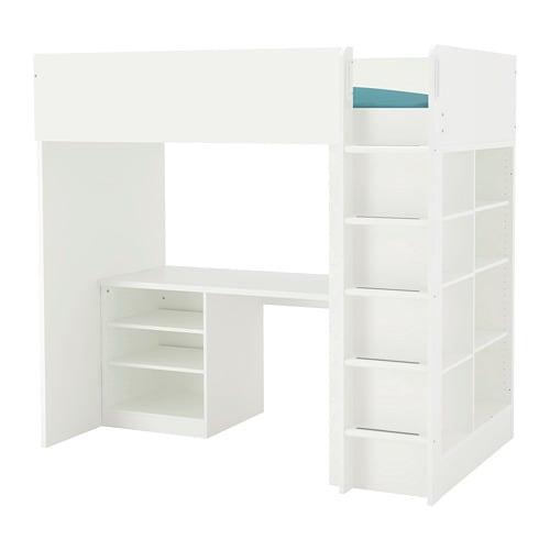 Stuva Loft Bed Combo W 2 Shlvs 3 Shlvs Ikea