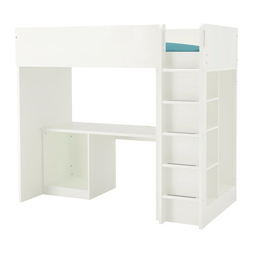 Stuva Loft Bed Frame Desk And Storage Ikea