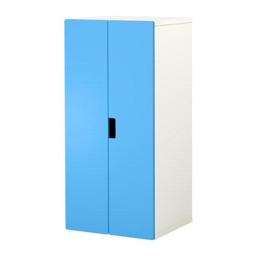 stuva storage combination with doors white blue ikea. Black Bedroom Furniture Sets. Home Design Ideas