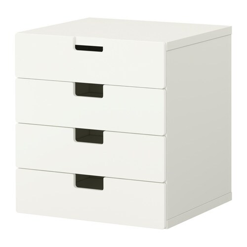 STUVA Storage combination with drawers - white/white - IKEA