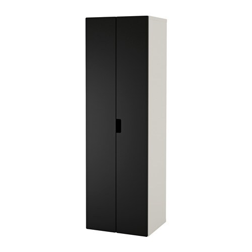stuva wardrobe white black ikea. Black Bedroom Furniture Sets. Home Design Ideas