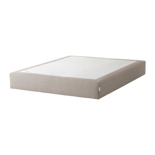 Sultan atl y box spring queen ikea for Ikea bed with box spring