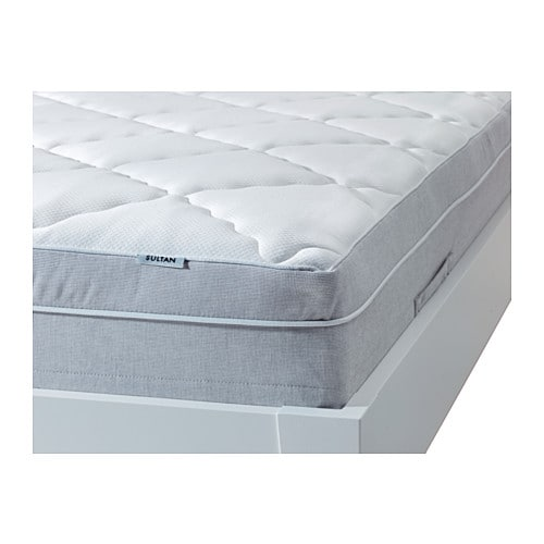 sultan hansbo memory foam pillowtop mattress queen ikea