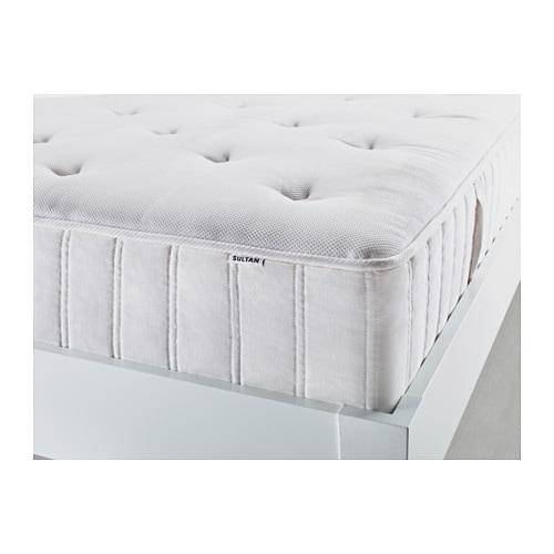 SULTAN HOLMSTA Latex pillowtop spring mattress Twin IKEA