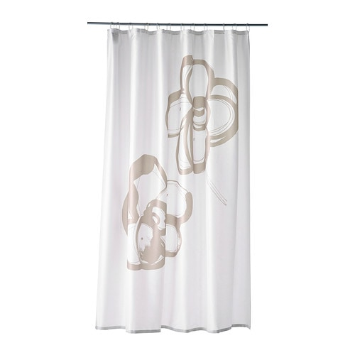 Summeln shower curtain ikea - Rideau de douche tissu impermeable ...
