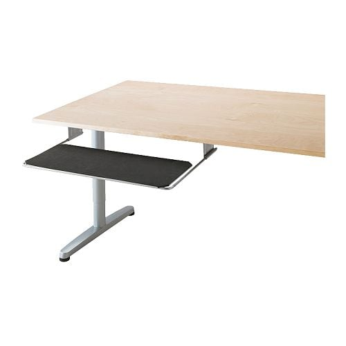 summera pull out keyboard shelf ikea pull out shelf for keyboard and